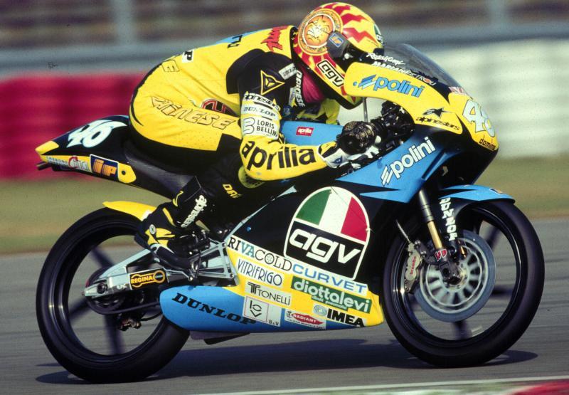 Debut de Valentino Rossi en Shah Alam 1996 Malasia 125cc mundial