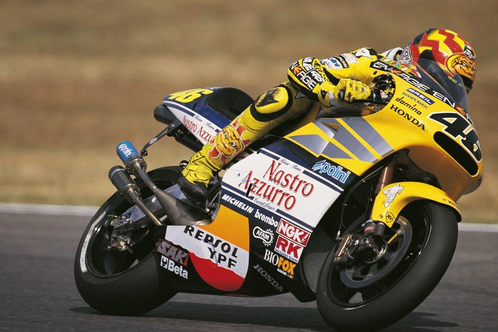 Rossi Honda 500cc ultimo titulo