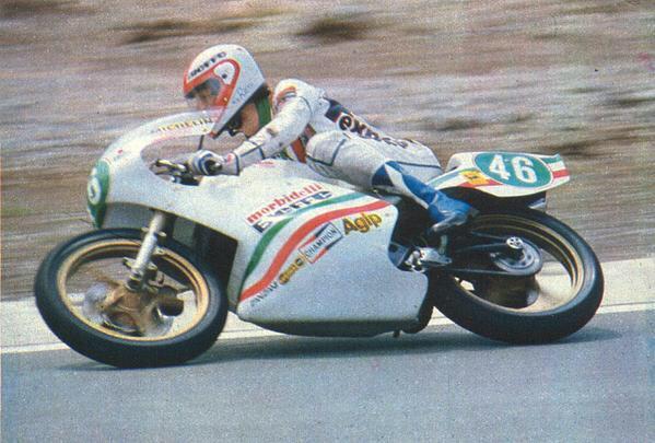 Graziano Rossi Morbidelli 250cc 1979 victoria