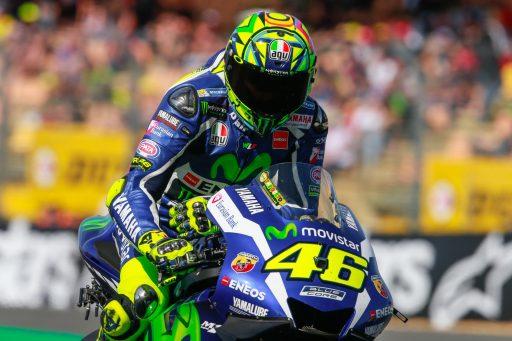 Valentino Rossi Yamaha 46 motogp