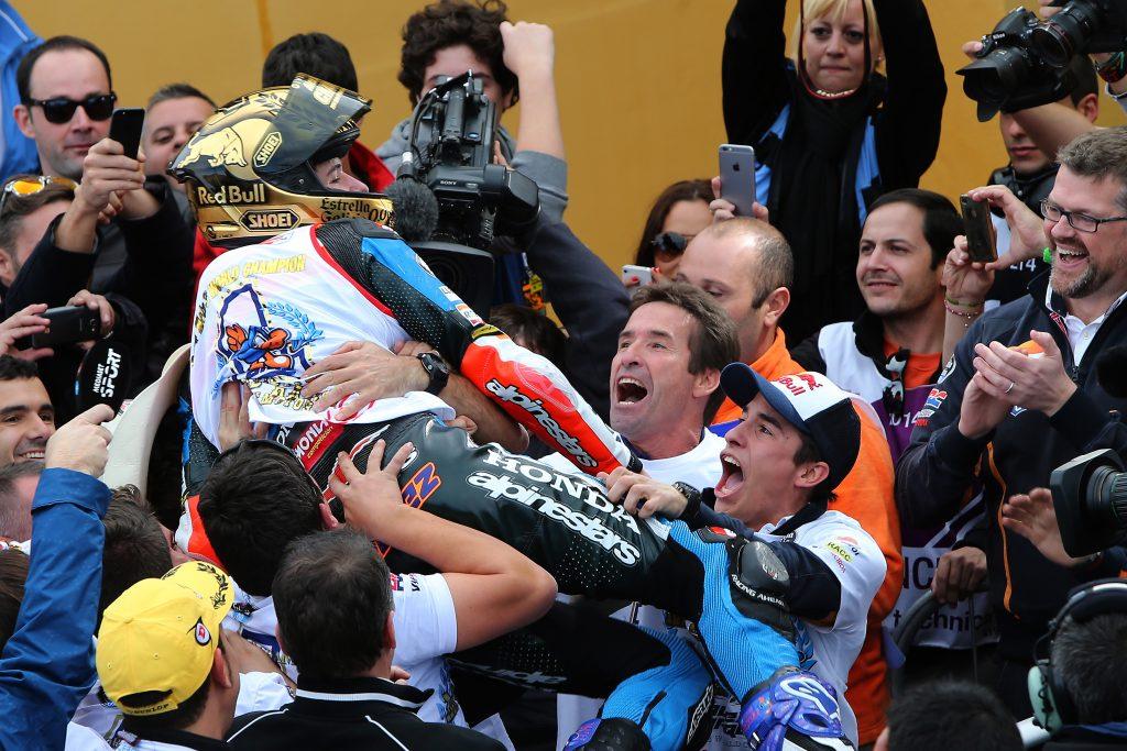 Alex Marc Marquez campeon mundo moto3 motogp 2014
