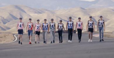 Los pilotos elegidos para la temporada 2018, durante las pruebas de selección en Almería