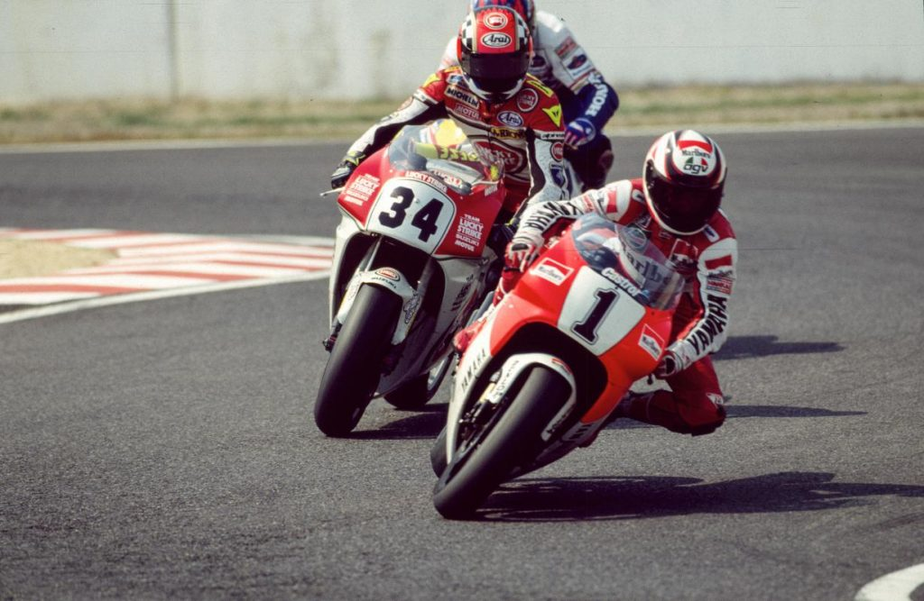 Rainey Schwantz Beattie Suzuka 1993 500cc motogp