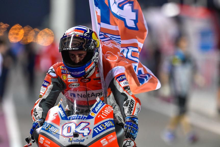 Andrea Dovizioso Qatar MotoGP