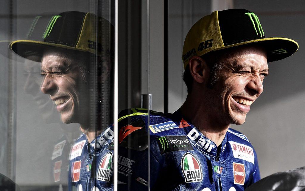 Valentino Rossi (ITA)<br /> Movistar Yamaha MotoGP<br /> Yamaha<br /> MotoGP<br /> GP Qatar 2018 (Circuit Losail