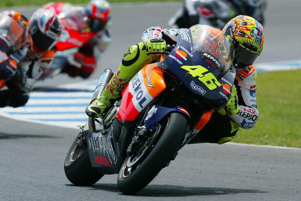 Rossi Honda MotoGP 2002