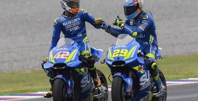 Suzuki Andrea Iannone Alex Rins Argentina