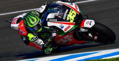 Cal Crutchlow domina primera jornada Jerez
