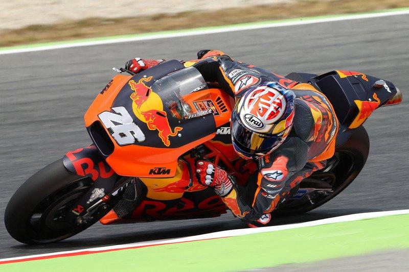 Dani Pedrosa KTM test