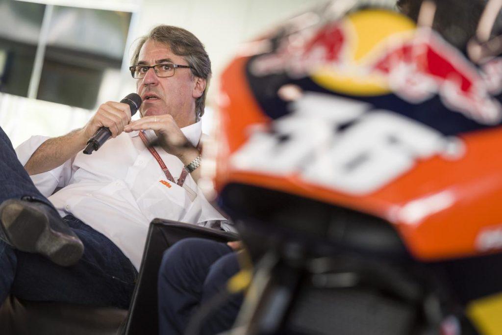 Stefan Pierer KTM 2019 MotoGP