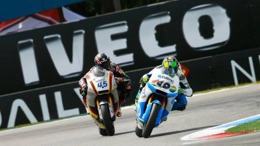 Scott Redding y Pol Espargaró Moto2