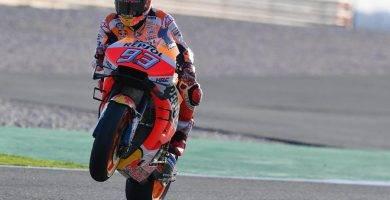 marc márquez maverick viñales rossi lorenzo yamaha honda motogp qatar gp moto2 moto3