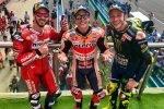 Márquez Rossi victorias podios ganador