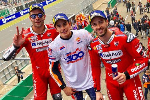 marc marquez, andrea dovizioso, GP Francia, le mans, motogp, danilo petrucci