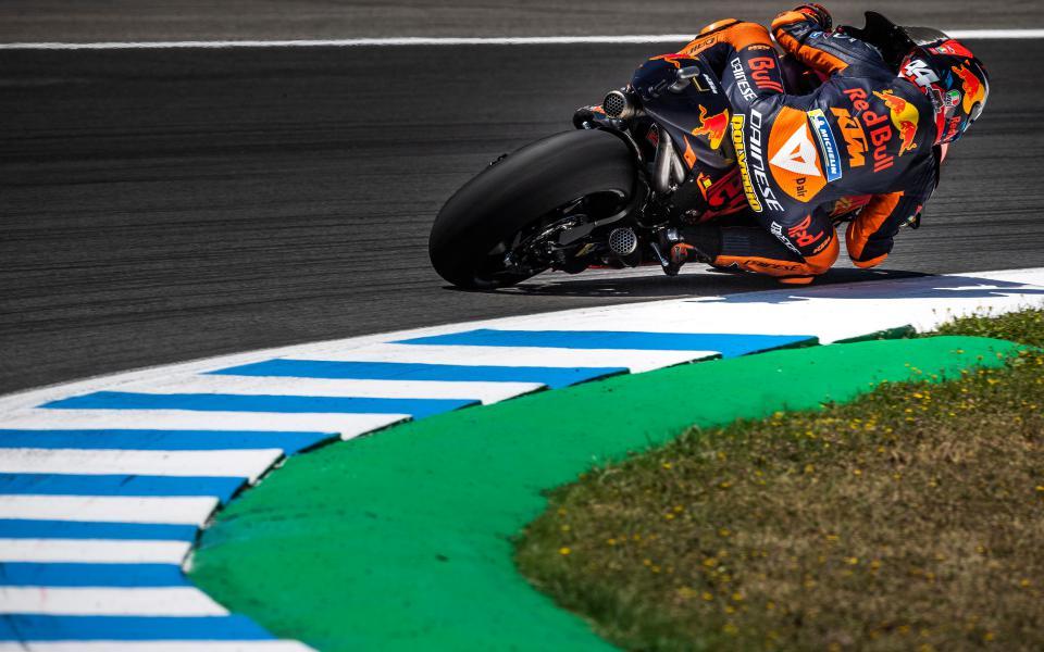 Pol Espargaró KTM MotoGP Jerez Michelin Quartararo Morbidelli
