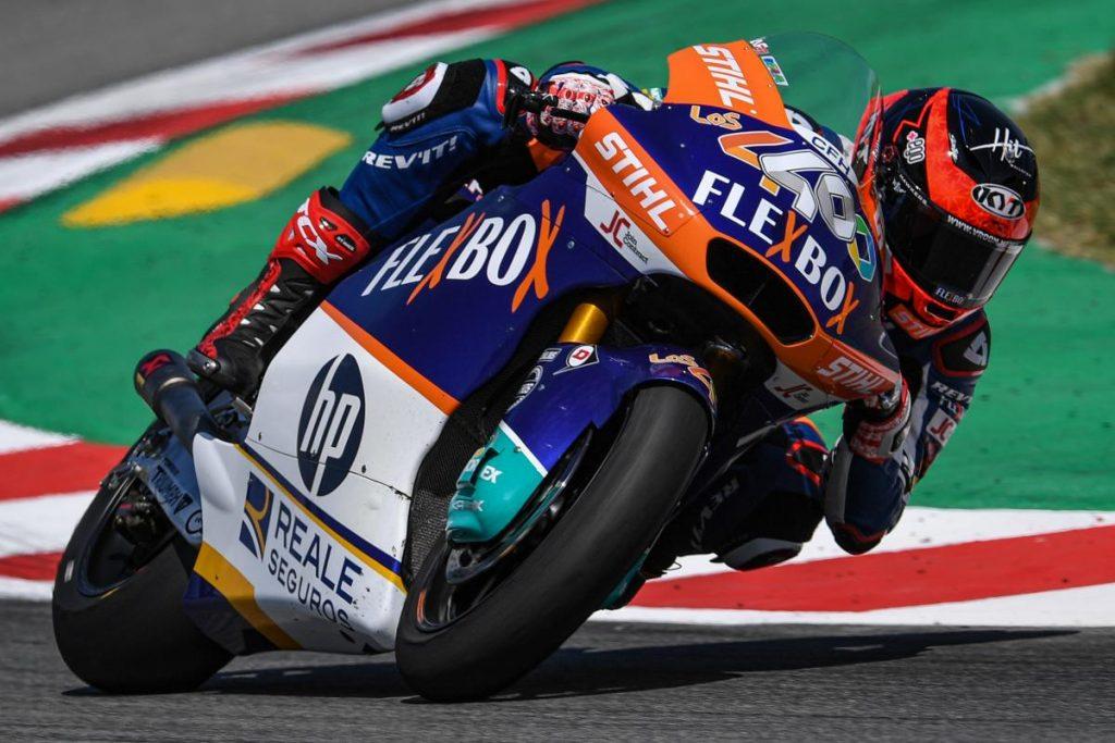 Augusto Fernandez Moto2 MotoGP Assen GP de Holanda