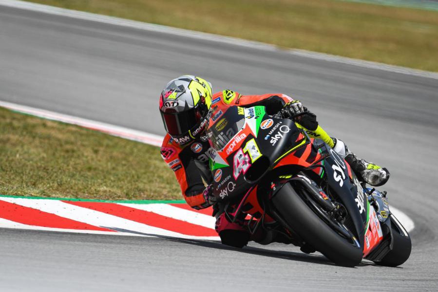 Aleix Espargaró Aprilia MotoGP Bradley Smith Montmeló GP de Catalunya CatalanGP