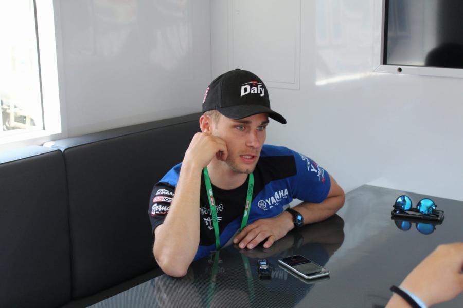 Jules Cluzel GMT94 Supersport WorldSSP WorldSBK Superbikes Misano