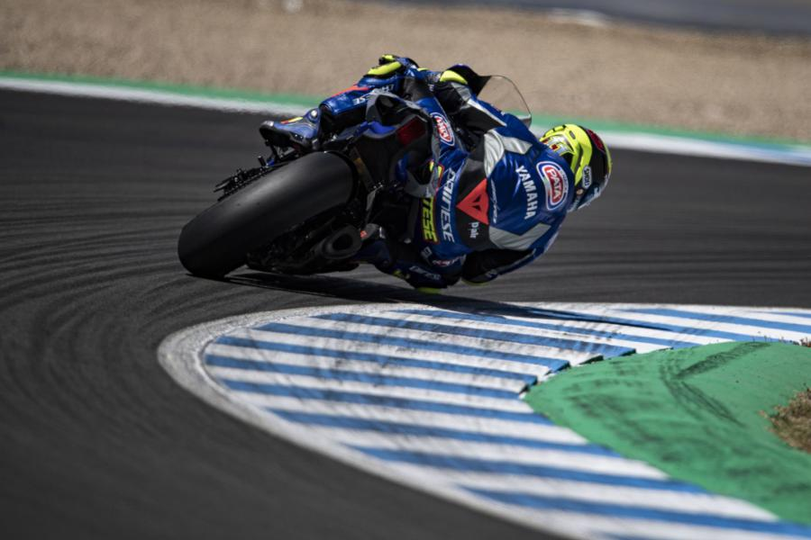 Sandro Cortese GRT Yamaha WorldSBK Superbikes Misano Jerez Moto2 Supersport