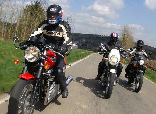 chaqueta motera, motos de calle