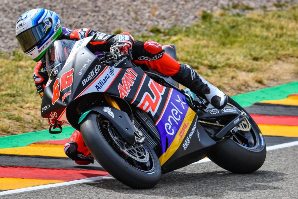 Niki Tuuli MotoE Sachsenring MotoGP GP de Alemania