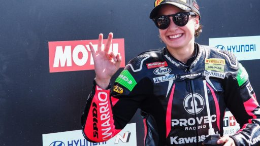 Ana Carrasco WorldSBK Supersport 300 Manu González Superbikes MotoGP