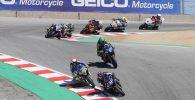 MotoAmerica Toni Elias Superbike Laguna Seca Garrett Gerloff Cameron Baubier Yamaha Suzuki