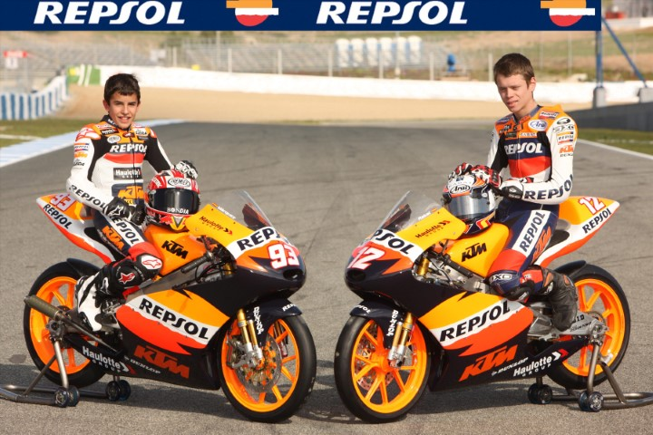 Márquez Rabat Repsol KTM