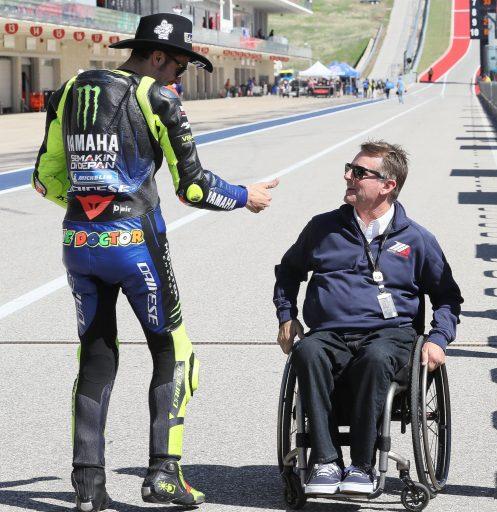 Wayner Rainey Valentino Rossi Moto Amércia MotoGP