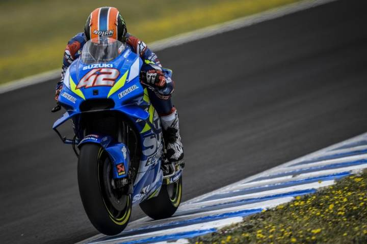 Alex Rins MotoGP Suzuki Marc Márquez BritishGP