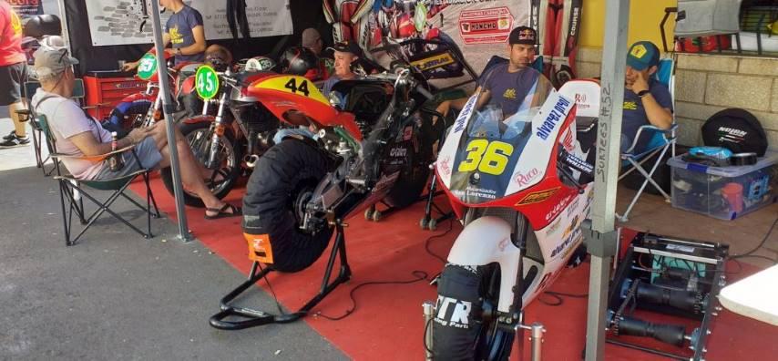 Paddock GP La Bañeza motos