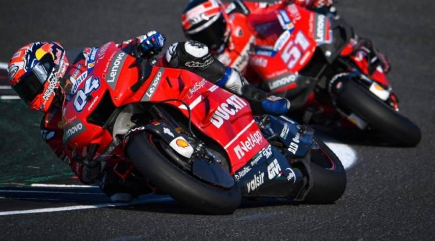 Dovizioso Ducati Test Misano