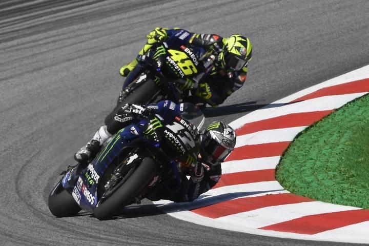 Maverick Viñales Rossi Yamaha