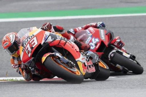 Marc Márquez Repsol Honda MotoGP Austria Red Bull Ring Dovizioso