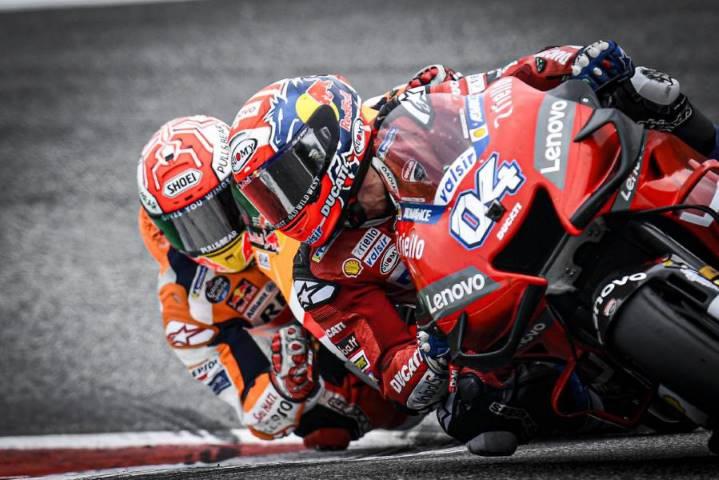 Andrea Dovizioso Ducati MotoGP Austria Marc Márquez