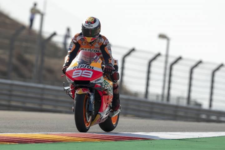 Jorge Lorenzo Honda Aragon MotoGP