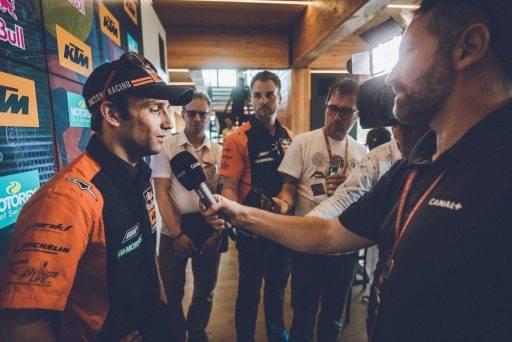 MotoGP Mike Leitner Johann Zarco KTM