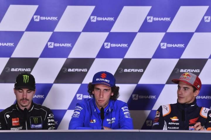 Márquez Rins Viñales MotoGP
