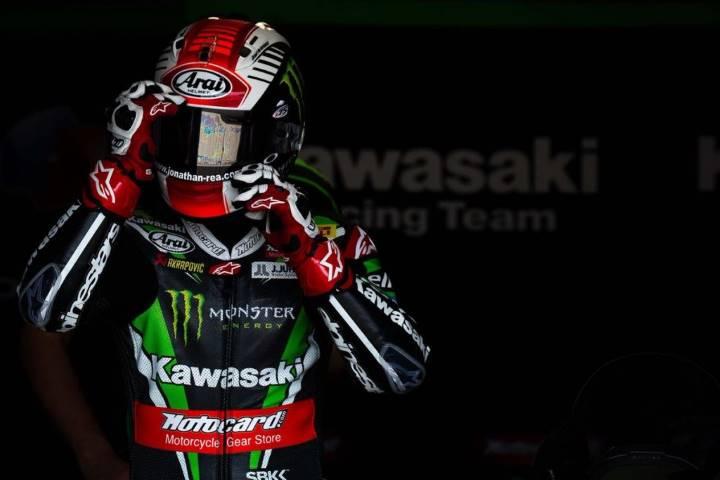 Jonathan Rea SBK Magny-Cours Kawasaki