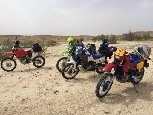 marruecos, motos