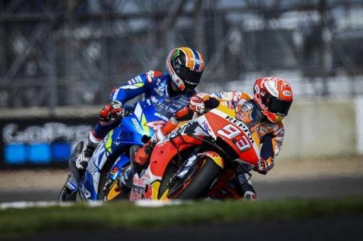 Marquez Rins MotoGP