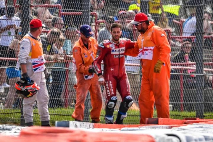 Andrea Dovizioso Ducati MotoGP Silverstone Misano SanMarinoGP