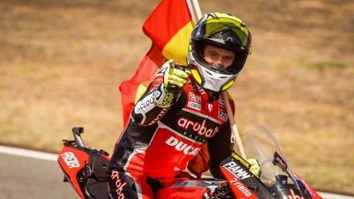 Álvaro Bautista Ducati Honda WorldSBK