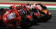 Dovizioso Petrucci Marquez Honda Ducati