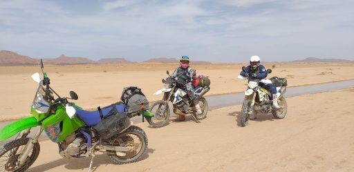 Preciosos paisajes en Marruecos