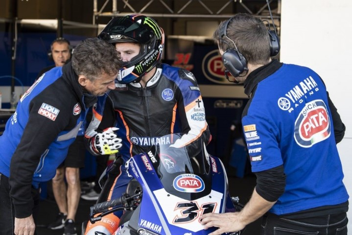 Sol Álvarez GRT Yamaha WorldSBK WorldSSP Superbikes
