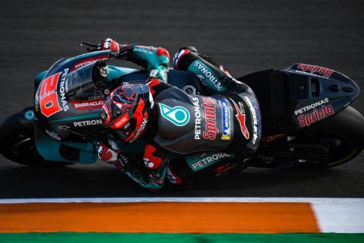 Fabio Quartararo MotoGP Petronas Yamaha SRT Valencia Test Jerez