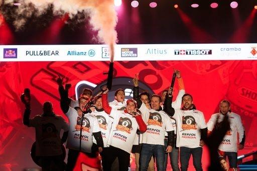 Marc Márquez 8 mundial titulo MotoGP Honda