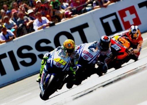 Rossi Lorenzo Pedrosa MotoGP