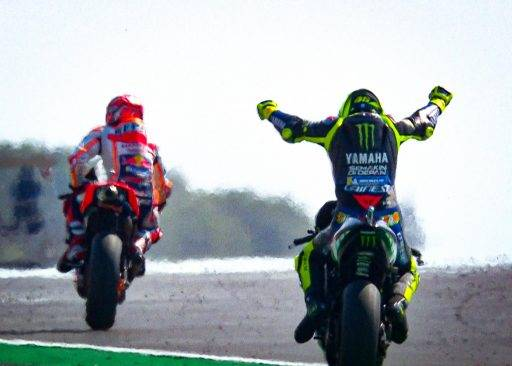 MotoGP Rossi Márquez
